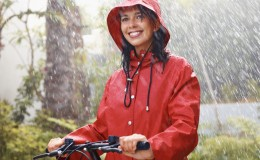 bigstock Woman In Raincoat